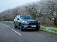 The RAV4 PHEV keeps body roll in check
