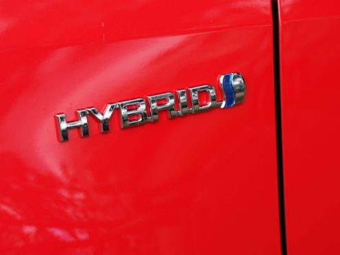 The hybrid engine in the Yaris is efficient and low on emissions
