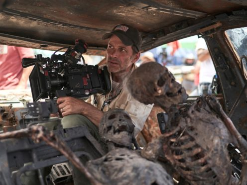 Zack Snyder on set of Army Of The Dead (CLAY ENOS/NETFLIX)