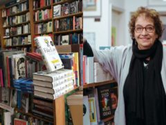 Newham Bookshop in London, and manager Vivian Archer (Newham Bookshop)