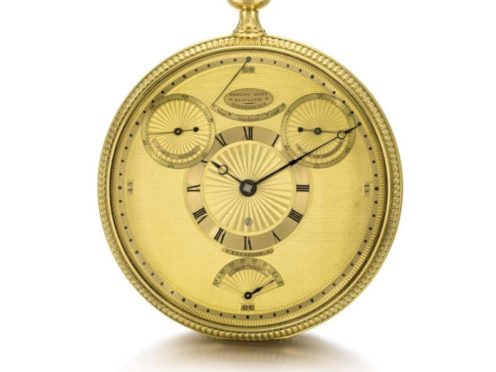 The watch was designed and made by the watchmaker Abraham-Louis Breguet (DCMS/PA)