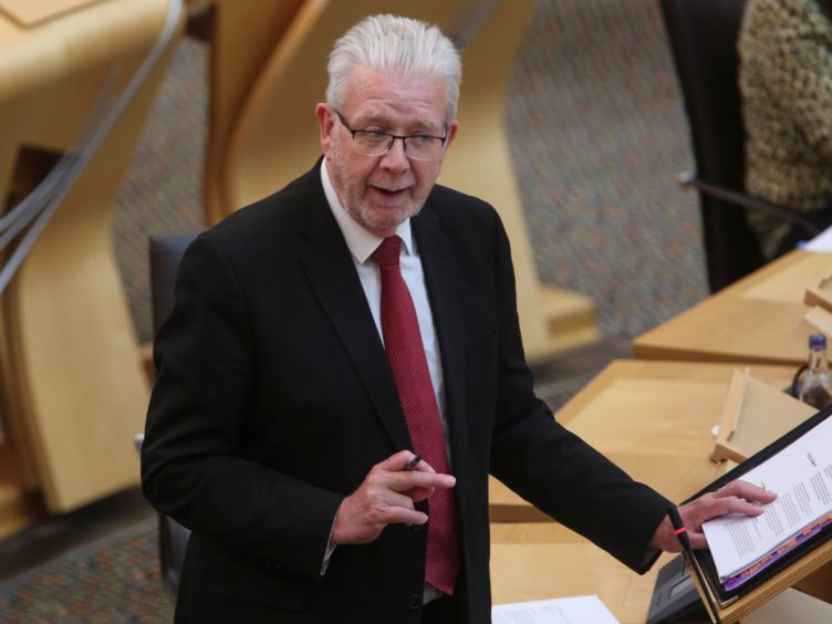 Mike Russell claimed the UK's Brexit deal would be 'very damaging to the economy and for jobs' (Fraser Bremner/Scottish Daily Mail/PA)