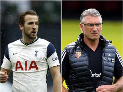 Harry Kane and Nigel Pearson (PA)