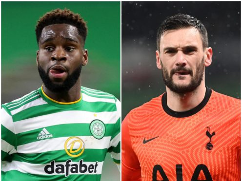 Odsonne Edouard and Hugo Lloris could be on the move (Jeff Holmes/Neil Hall/PA)