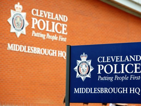 A general view of the Middlesbrough headquarters of Cleveland Police (Owen Humphreys/PA)