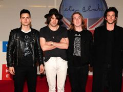 Freddie Cowan, Justin Young, Arni Hjorvar and Pete Robertson of The Vaccines (Ian Wet/PA)