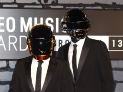 Daft Punk (Doug Peters/PA)