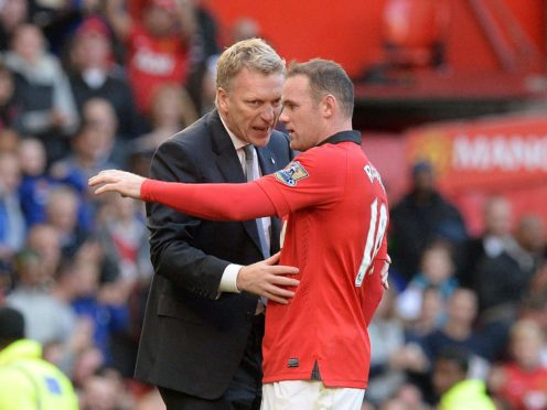 Wayne Rooney signed a new deal in February 2014 when David Moyes was Manchester United manager (Martin Rickett/PA)