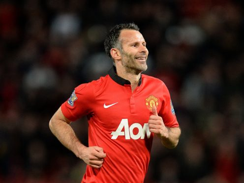 Giggs spent his final season as a player in 2013/14 after signing a one-year contract extension (Martin Rickett/PA)