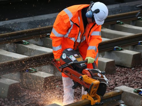 Britain's rail industry has been urged to pioneer 'radical' new ways of working (Andrew Milligan/PA)