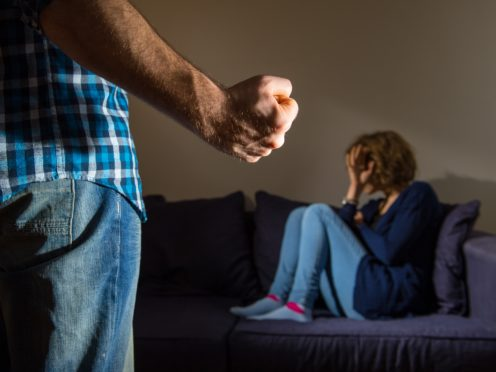 Almost half of reported rapes involve a partner or ex-partner (Dominic Lipinski/PA)