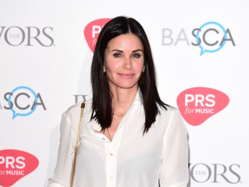 Courteney Cox wished Jennifer Aniston a happy 52nd birthday – and revealed her unusual nickname for her former Friends co-star (Ian West/PA)