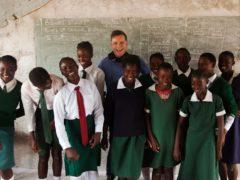 The money will help children in South Sudan (Simon Murphy/Sciaf/PA)