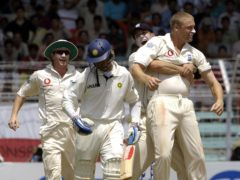 Andrew Flintoff's England secured a 212-run win in the final Test in Mumbai in March 2006 to draw the series 1-1 (Rebecca Naden/PA)