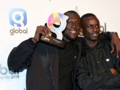 Stormzy and DJ Tiiny (Isabel Infantes/PA)
