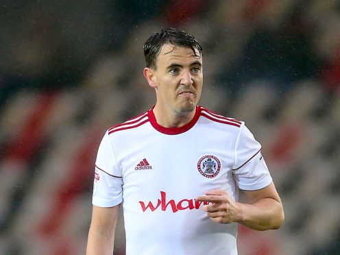 Sean McConville will again be missing for Accrington (Mark Kerton/PA)