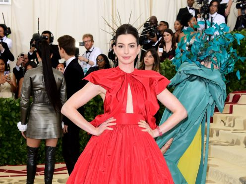 Anne Hathaway (Ian West/PA)