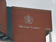 The latest quarterly data confirms the impact the outbreak had on the courts when they were forced to shut as the country went into lockdown (Peter Powell/PA)