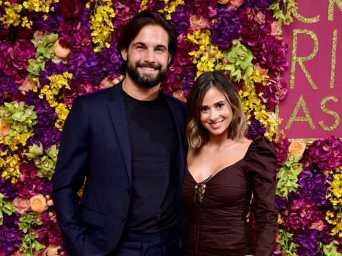 Jamie Jewitt and Camilla Thurlow (Ian West/PA)