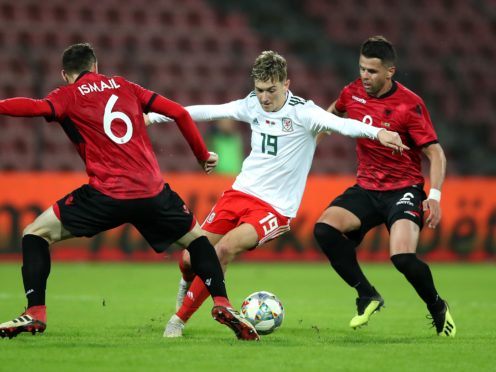 Wales last played Albania in an Elbasan friendly in November 2018 (Adam Davy/PA)
