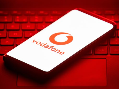Vodafone has reported a slump in revenues for the past three months (Dominic Lipinski/PA)