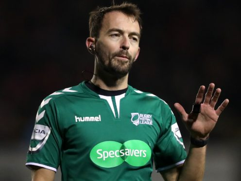 James Child is a Super League referee (Simon Cooper/PA)