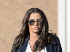 Katie Price said she is registered disabled and has applied for a blue badge after breaking her feet in a fall during a holiday in Turkey (Rick Findler/PA)