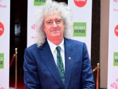 Brian May (Ian West/PA)