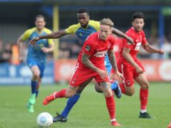 Jordan Maguire-Drew is back for Crawley (David Davies/PA)