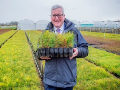 Fergus Ewing MSP, the Rural Economy Secretary, is due to address the NFU Scotland AGM (Alan Peebles/PA)