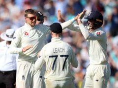 Joe Root led England to a landmark win (Mike Egerton/PA)