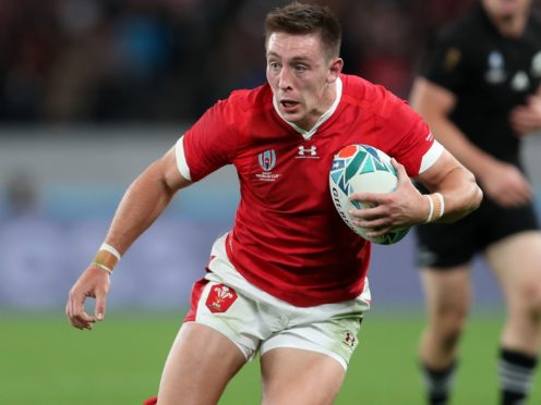 Wales wing Josh Adams has been suspended for the opening two matches of the Guinness Six Nations for breaching Covid-19 protocols (David Davies/PA)