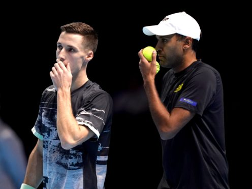 Joe Salisbury and Rajeev Ram are into the Australian Open men's doubles final (John Walton/PA)