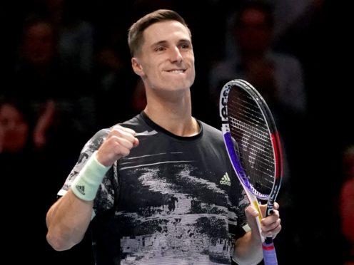 Joe Salisbury is enjoying a successful Australian Open (John Walton/PA)