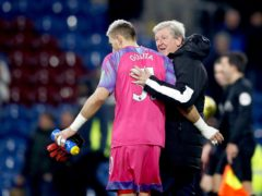 Roy Hodgson is delighted Crystal Palace goalkeeper Vicente Guaita has committed his future to the club (Martin Rickett/PA)