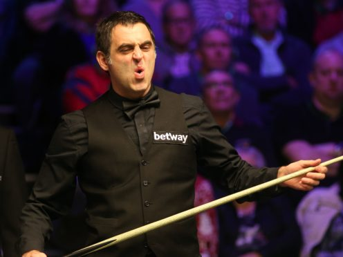 Ronnie O'Sullivan was beaten in the Welsh Open final (Nigel French/PA)