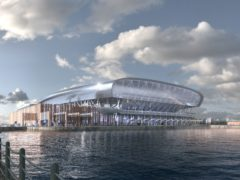 Everton's proposed new stadium at Bramley-Moore Dock has been granted planning permission (credit: Everton FC)