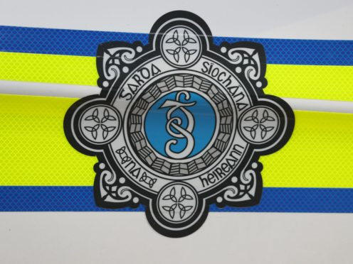 The Garda logo (Brian Lawless/PA)