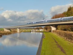 HS2 will be vital for enabling people to meet each other unless teleportation becomes a reality, Transport Secretary Grant Shapps has claimed (HS2/PA)
