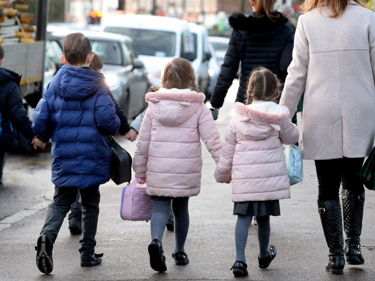 Getting children back to school is a priority (Nick Ansell/PA)