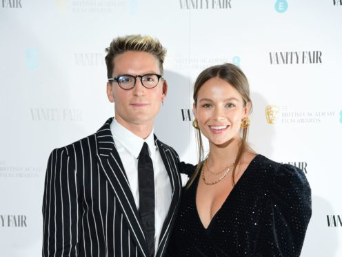 Oliver Proudlock and Emma Louise Connolly tied the knot in December (Ian West/PA)