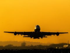 The aviation industry has been hit hard by Covid-19 (Steve Parsons/PA)