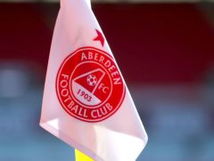 Aberdeen have doubts over Fraser Hornby (Jane Barlow/PA)