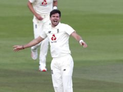 James Anderson shone for England (Alastair Grant/PA)