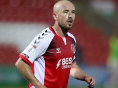 Fleetwood striker Paddy Madden will be unavailable for the visit of Accrington (Martin Rickett/PA)