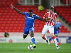 John Akinde scored twice (Nigel French/PA)