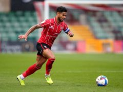 Liam Bridcutt could miss out for Lincoln (Nigel French/PA)