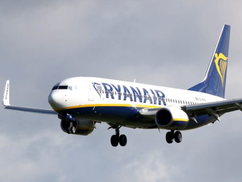 Ryanair said 'important contextual factors' needed to be taken into account when considering the advert (Niall Carson/PA)