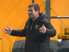 Mansfield manager Nigel Clough was happy with his side's point against Walsall (Zac Goodwin/PA)