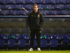 Nigel Clough was frustrated after Mansfield's game fell victim to the weather (Zac Goodwin/PA)